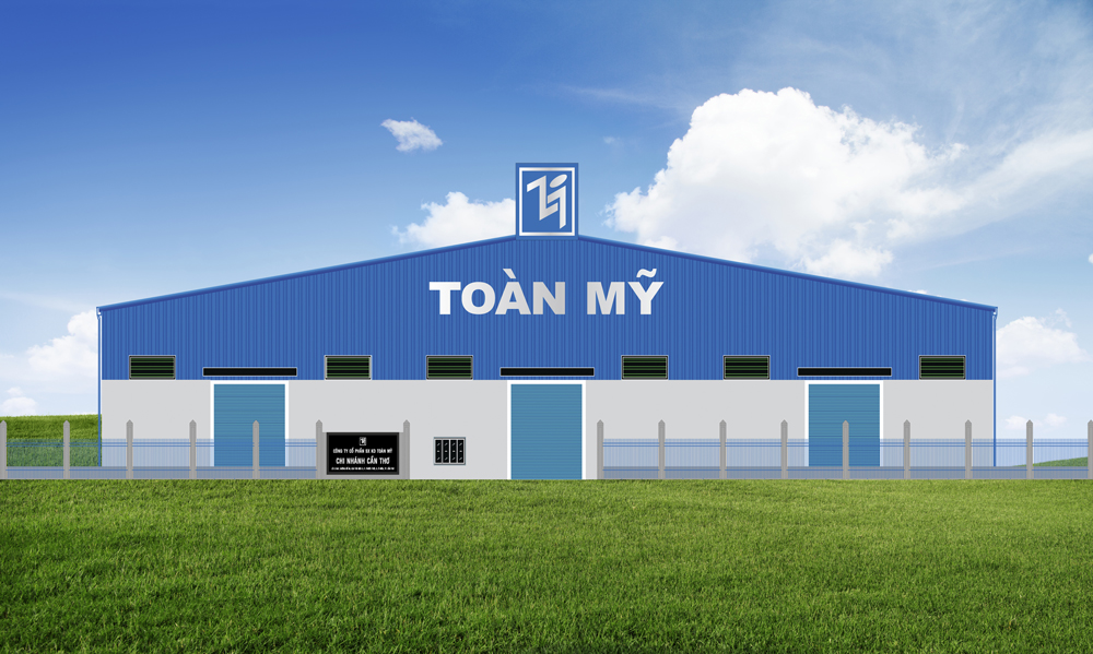 Nhà máy mới của Toàn Mỹ tại TP. Cần Thơ