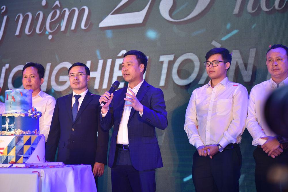 Đôi lời phát biểu của chủ tịch Lê Vĩnh Sơn