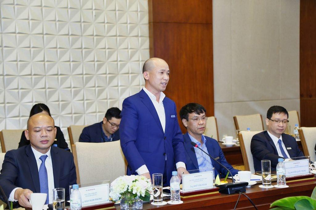 Ông Nhữ Văn Hoan - Đại diện nhà cung cấp điện năng lượng mặt trời FreeSolar